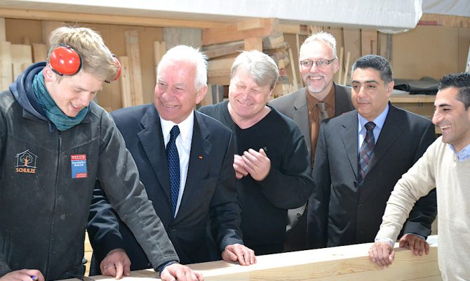 Zu Besuch bei Schulze Holzbau