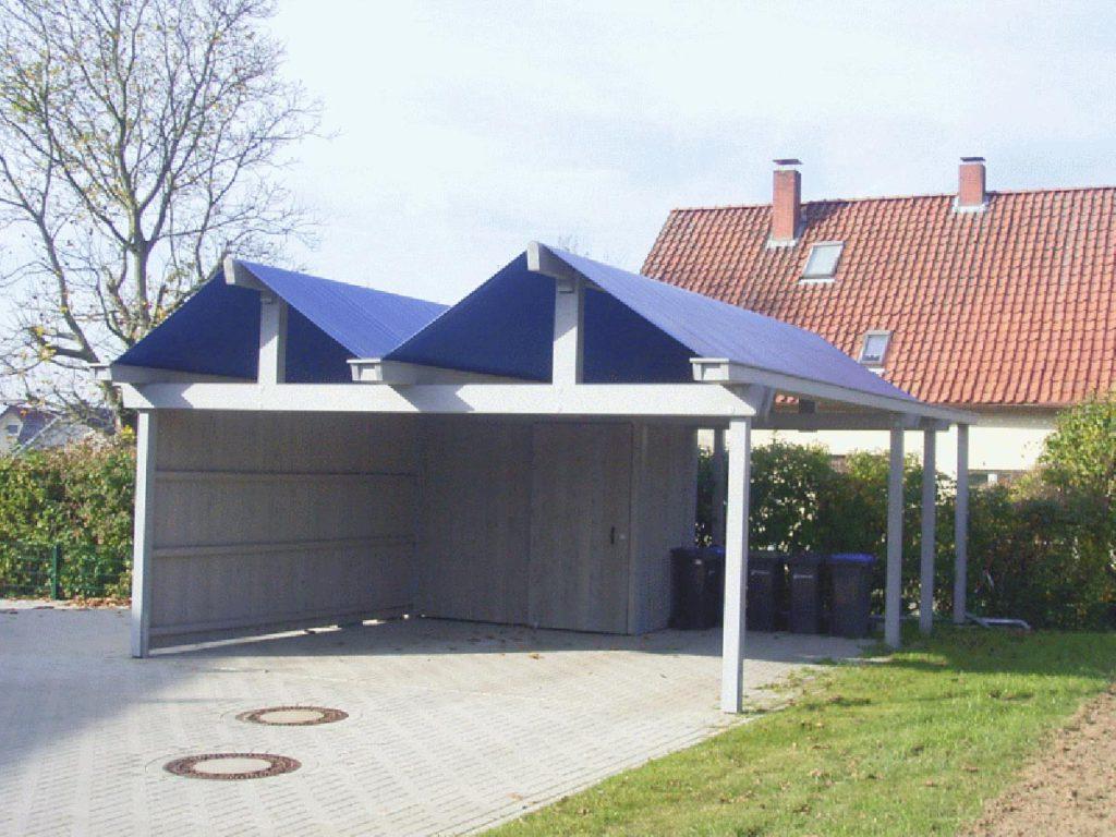 Carport – modern und individuell aus Holz
