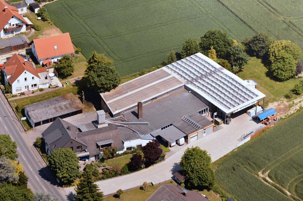 Luftaufnahme aus dem Jahr 2013