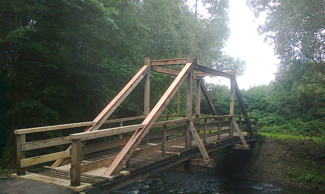 Brücke Lage