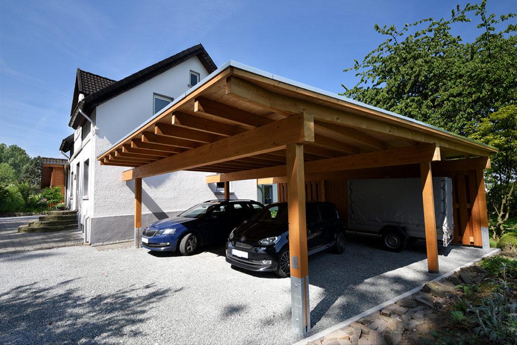 Carport – modern und individuell aus Holz - Individuell. Funktionell. Schön. Carports aus Holz.