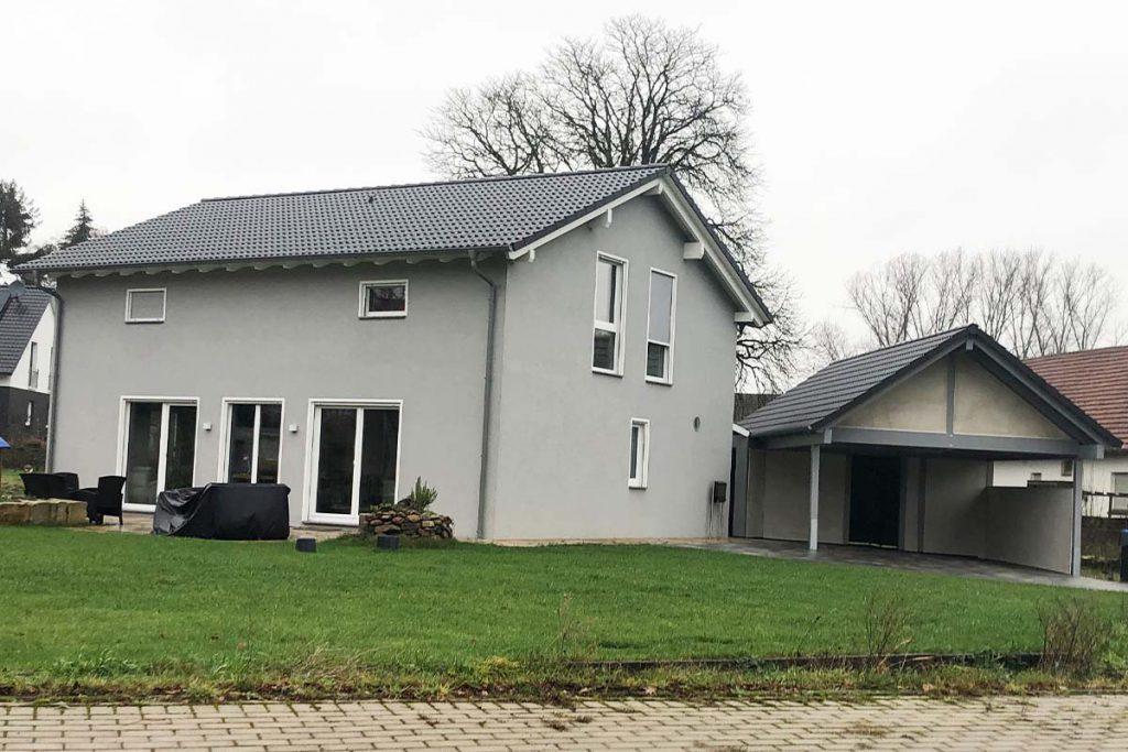 Neues Carport aus Holz in Lage Pottenhausen