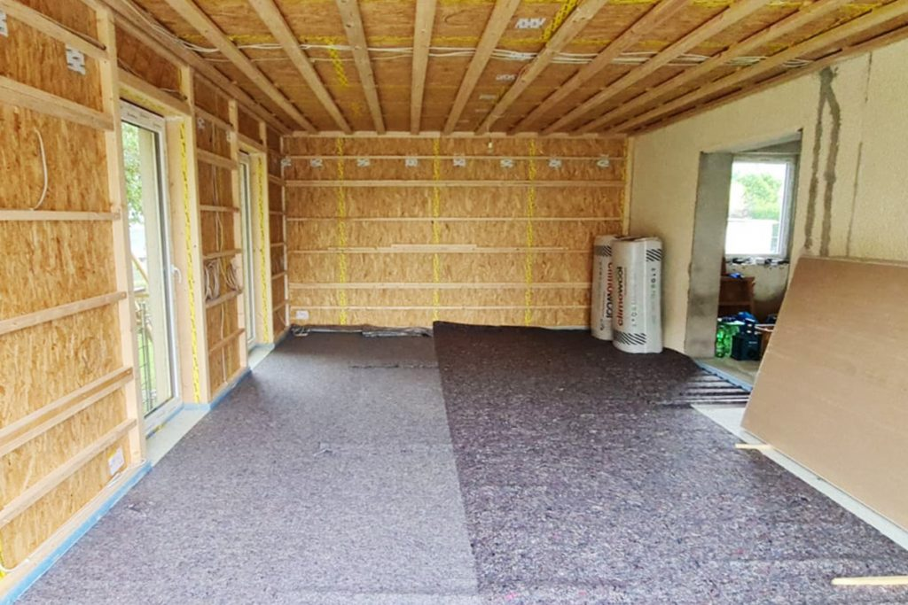 Anbau aus Holz - Schulze Holzbau ist Ihr Ansprechpartner für Anbauten im Holzrahmenbau in Ostwestfalen-Lippe.