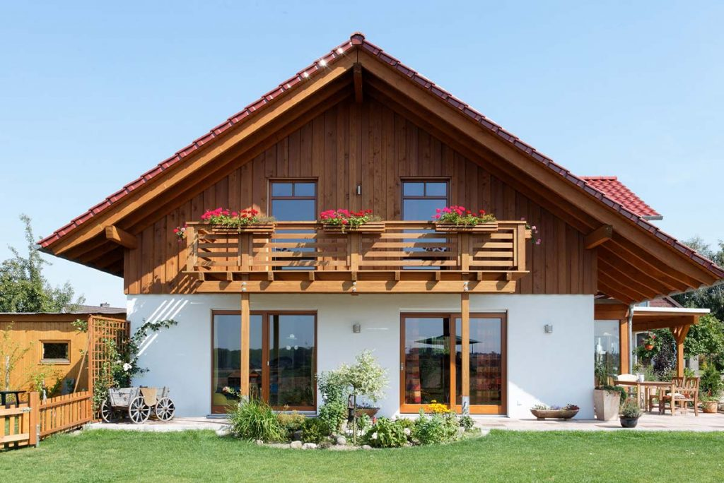 Einfamilienhaus aus Holz - Das private Einfamilienhaus in Holzbauweise umgesetzt nach Ihren individuellen Wünschen